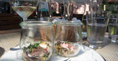 Wijn spijs reizen naar de Pfalz