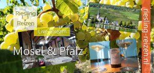 Live Stream Culinaire Wijnreis Mosel & Pfalz